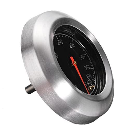 Ruluti Grill Termometro in Acciaio Inox Grill Termometro Gauge Barbecue Fumatore Grill Termometro Gauge