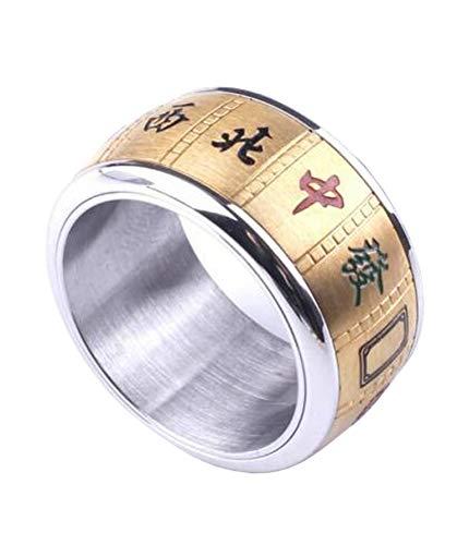Steel Mahjong Ring