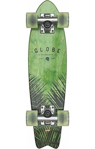Globe Skateboards Bantam St Evo Cruiser Complete Skateboard, Verde Acero