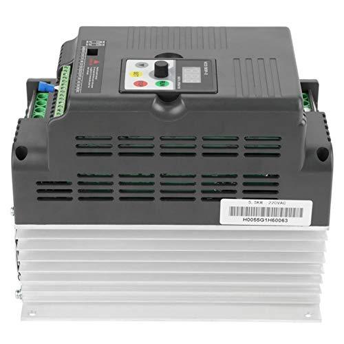 Variador de frecuencia, variador de frecuencia monofásico fácil de operar, para motores de CA trifásicos Equipos de automatización de la industria Control de velocidad del motor del husillo