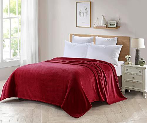 Foren Tex Manta para sofá y Cama de Franela (S-3093) 300GMS Sin Pelusas No Suelta Pelo Tacto Suave y Cálida Varios Tamaños y Colores (130x150cm)