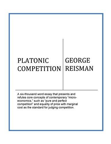 PLATONIC COMPETITION (English Edition)