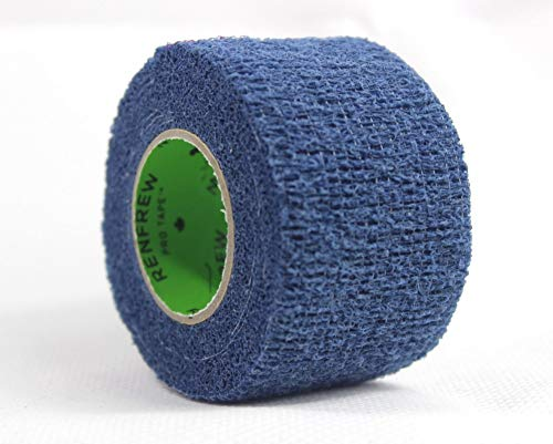 Renfrew Stretch Grip Hockey-Tape, 38mm Griptape für Eishockey (blau), 5,50 m
