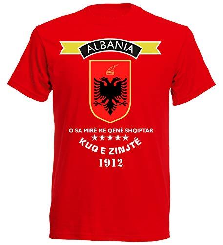 aprom Albanien T-Shirt WM EM Herren 8 (L)