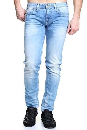 Pepe Jeans Hatch Jeans, 11oz Vintage 8 Dip, 38W/34L Homme