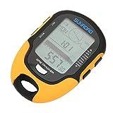 Bnineteenteam Altimetro Elettronico GPS, ABS IPX4 Grado Impermeabile GPS Altimetro Elettro...