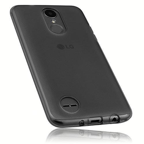 mumbi Hülle kompatibel mit LG K4 Handy Hülle Handyhülle, transparent schwarz