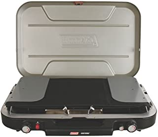Coleman Accessory Griddle and Grease Cup EvenTemp Stove, Black/Grey