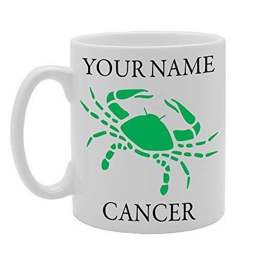 Your Name Horoscope Star Sign Cancer Zodiac Personalised Gift Printed Tea Coffee Ceramic Mug