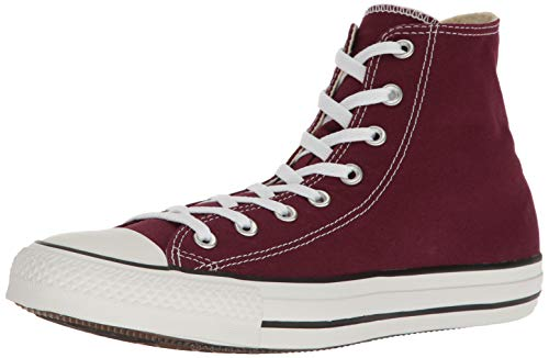 Converse Men's Shoes All Star Chuck Taylor Hi Burgundy Red Fashion Sneakers (11 Men's)