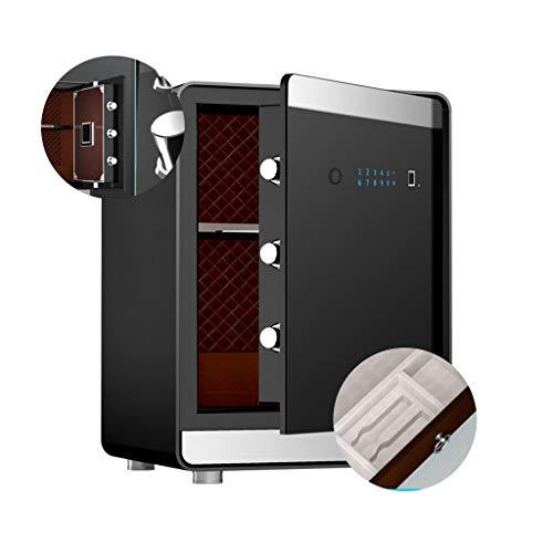 HttKse Tresore Safe Automatische Smart Storage Box Kleiner Unsichtbaren Schrank Nachttisch Mit Schublade Fingerabdruck-Kennwort All Steel Anti-Diebstahl-Datei Cabinet Office
