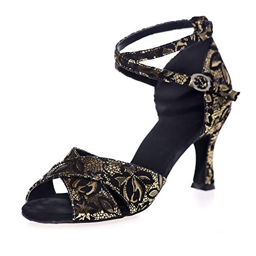 LGYKUMEG Chaussures De Danse Latine Femmes Moderne...