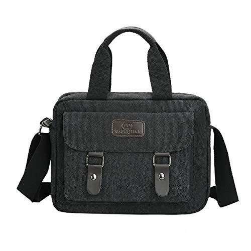 Eshow borsa a tracolla da uomo borsa monospalla da uomo borsa di tela giornaliera Sportive BorsaOutdoor