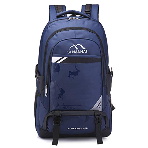 None/Brand Large Capacity Waterproof Backpack Outdoor Travel Unisex Mountaineering Bag Light Travel Luggage Bag
