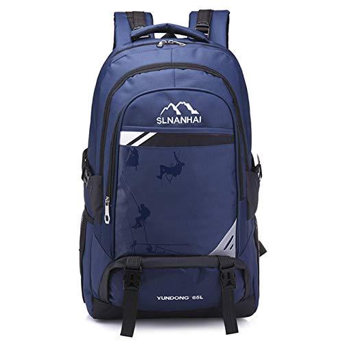 N\C Mochila Impermeable de Gran Capacidad Viaje al Aire Libre Bolsa de montañismo Unisex Bolsa de Equipaje de Viaje Ligera