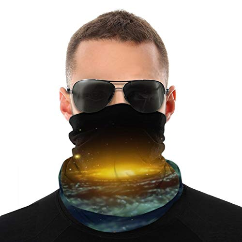Face Scarf Cover Mask, Astronomy Cosmos Outer Space Bandanas Protection...