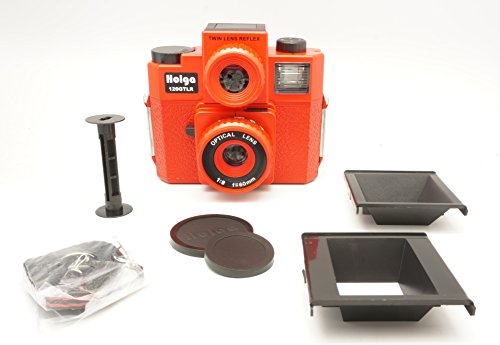 Holga 120GTLR Red Medium Format 120 Film Camera Twin Lens Reflex (discontinued)