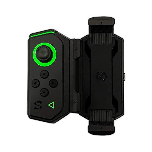 Black Shark Gamepad 2 Set di controller da gioco con joystick Bluetooth portatile, controller di gioco mobile, adatto per telefoni Android/iOS(Nero)