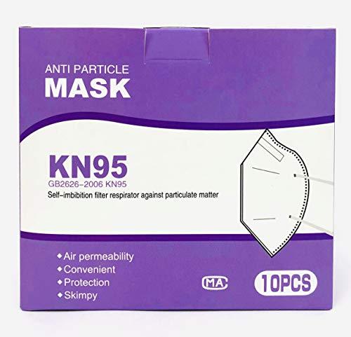 KN95マスク10枚×3箱(ホワイト 個包装)