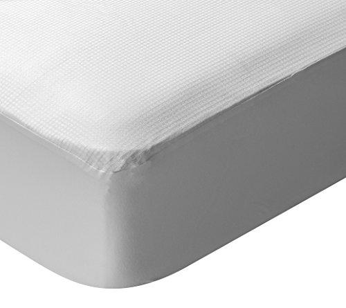 Pikolin Home - Protector de colchón, termorregulador, transpirable, 105x190/200cm-Cama 105 (Todas las medidas)