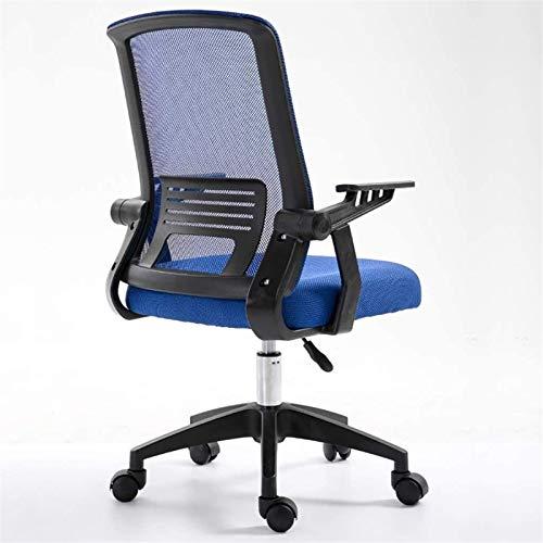 Silla Giratoria de Oficina Silla Silla de oficina Escritorio Silla de oficina Silla con respaldo alto grande asiento y función de inclinación silla giratoria Ejecutivo ordenador, se levanta hacia arri