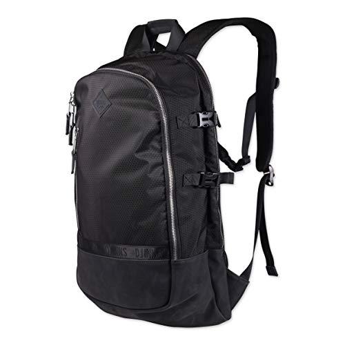 Djinns Backpack Honey Nylon Black