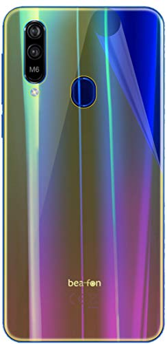 dipos I 3X Schutzfolie 100prozent kompatibel mit Beafon M6 Rückseite Folie I 3D Full Cover Bildschirmschutzfolie