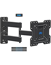 """Mounting Dream TV Wall Mount for Most 17""""-39'' TVs with Perfect Center Design, Monitor Wall Mount for up to TV/monitor VESA 200 x 200mm and 77lbs. Loading Capacity, Full Motion TV Mount MD2413-S"""