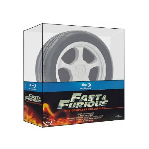Fast & Furious - Ruota Collection (Limited) (5 Blu-Ray)