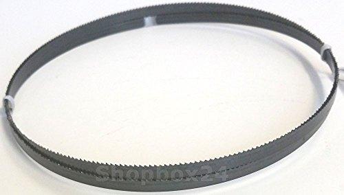Premium Sägeband Bandsägeband Bandsägeblatt Sägebänder 1575 mm x 6 mm x 0,36 mm x 14 Zähne pro Zoll , für weiche Metalle wie Bronze, Kupfer und Aluminium, für : Haager HBS 12, Interkrenn BS 12, Rexon BS12 RA, Lematec SS12 / BS-12 u.v.m.