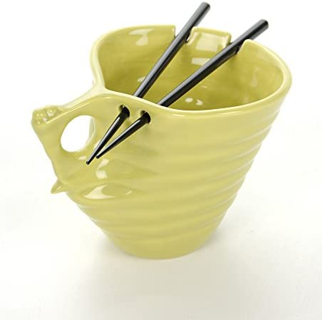 Buddha Bowl Original Udon 着後レビューで 送料無料 Noodle B Ceramic Chopsticks Ramen 舗
