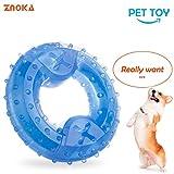 """Znoka Kauspielzeug """"Arctic Freeze"""" für Haustiere, kühlender Kauknochen für Linderung beim Zahnen,Ring"""