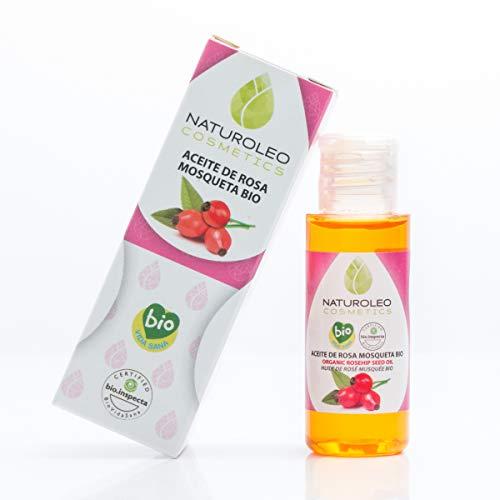 Naturoleo Cosmetics - Aceite Rosa Mosqueta BIO - 100% Puro y