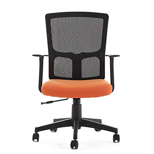 ZXNRTU Relájese cómodamente Seguro Tapizados, Lumbar, giratoria de Oficina Silla de Escritorio, sillas Ajustables de Oficina, Silla del Acoplamiento del Ordenador de Escritorio de Oficina, multifunci