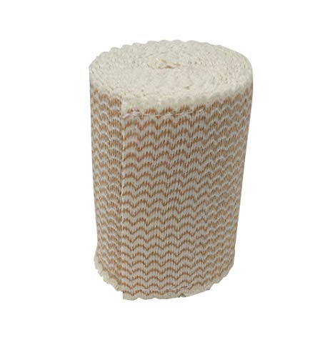 Elastic Bandage with Hook and Loop Closure (No Clips Needed) (Pack of 3) (3-inch)