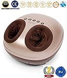 VITALZEN MINI Massaggiatore per piedi (modello 2019) - Massaggiatore elettrici con massaggio per compressione, termale e pressoterapia - 2 Anni di Garanzia GLOBAL RELAX Italia