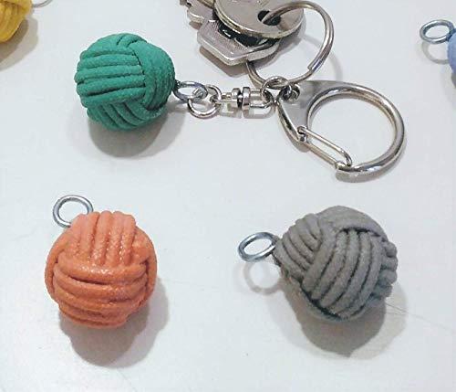 Schlüsselanhänger mit einem Anhänger mit Affenfaust aus Keramikharz, meer, Seemann, See, Segel, Marine-Deko, Hochzeit, Junggesellinnenabschied, Segelgeschenk
