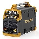 TOOLIOM 200A MIG Welder 3 in 1 Flux MIG / Solid Wire / Lift TIG / Stick Welder 110 / 220V Dual Voltage Welding Machine (Renewed)