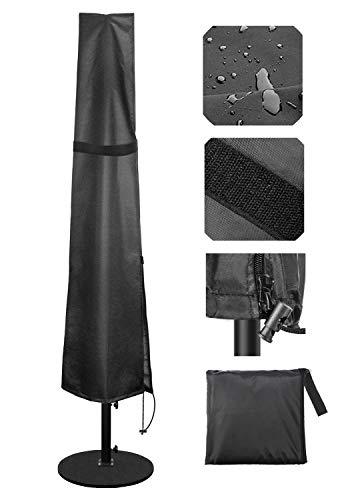 Becheln Outdoor Umbrella Cover, Waterproof Patio Umbrella Parasol Covers with Rust Proof Zipper for...