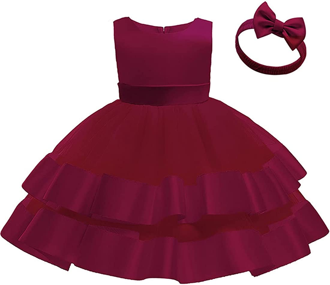 Pure Flower Girl Dress for Wedding Size 9 Months to 6 Years