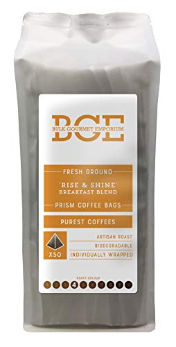 Bulk Gourmet Emporium 'Rise & Shine' Breakfast Blend Fresh Ground Coffee...