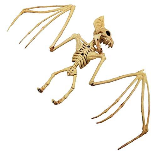 CULER Halloween Tierisches Skelett Modell Simulation Bat Modell Figuren Dekor Partydekoration Supplies