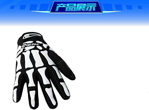 Guantes de ciclismo de gel, guantes deportivos QE7507 (L)