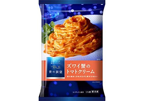 【冷凍】日清フーズ 青の洞窟 ズワイ蟹の トマトクリーム X6袋