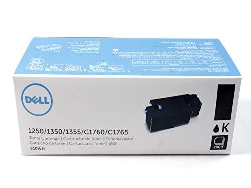Original Dell C1760nw/C1765nf/C1765nfw/1250c/135X High Capacity Toner Kit, ca. 2.000 Seiten, black