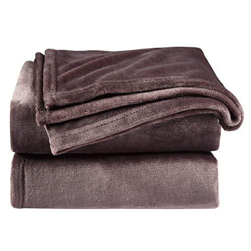 Mantas Cubre Sofas Chocolate mantas cubre sofas  Marca Bedsure