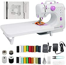 Mini Portable Sewing Machines ,Sewing Machine for beginners,12 Stitches 2 Speed with Foot Pedal,Easy Sewing Machine for Household Crafting Mending