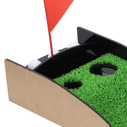 Mini Golf Putting Green, césped simulado, Duradero Putting Green para Interiores, para golfistas Amantes del Golf Principiantes