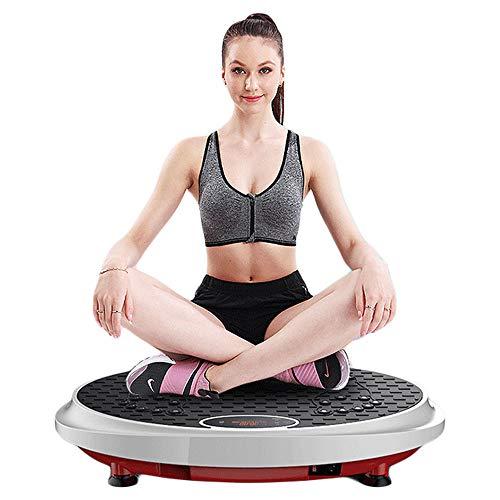 Vibratieplatform met Dual Fitness Motor, 3D Full Body Vibration Training Machine voor met Bluetooth-luidsprekers en balansbanden