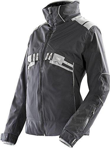X-Bionic Veste de Ski pour Femme xitanit Evo UPD Ow pour Homme, Femme, Ski Lady XITANIT Evo UPD Ow Jacket, Noir/Argent